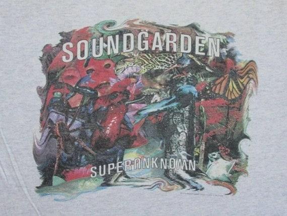 Vintage Soundgarden Superunknown XL 2 Sided T Shir