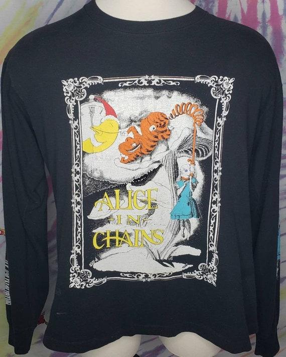 MINT Vintage Alice In Chains Alice In Wonderland … - image 1