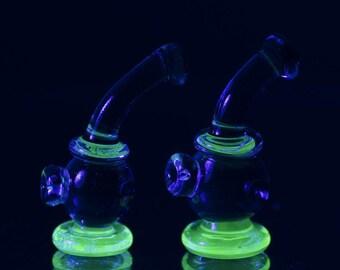 Minifigure Glass Bubble Bong (2 pcs)