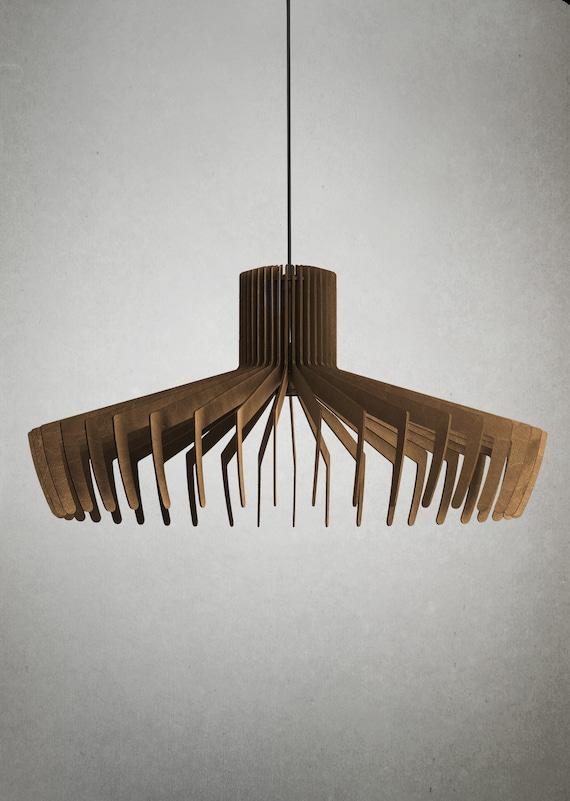 Sun Ceiling Light Wood Ceiling Light Wood Ceiling Lamp Etsy