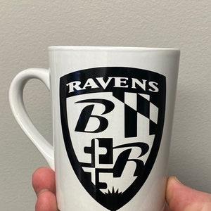 vinyl logo mug Seattle Kraken expansion team hockey nhl pint glass