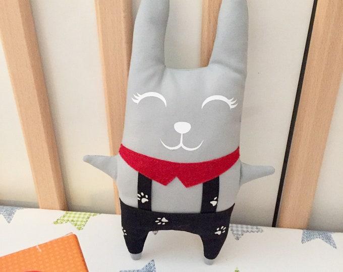 Peluches jouets Chat ou Lapin, le meilleur ami de tous les petits !