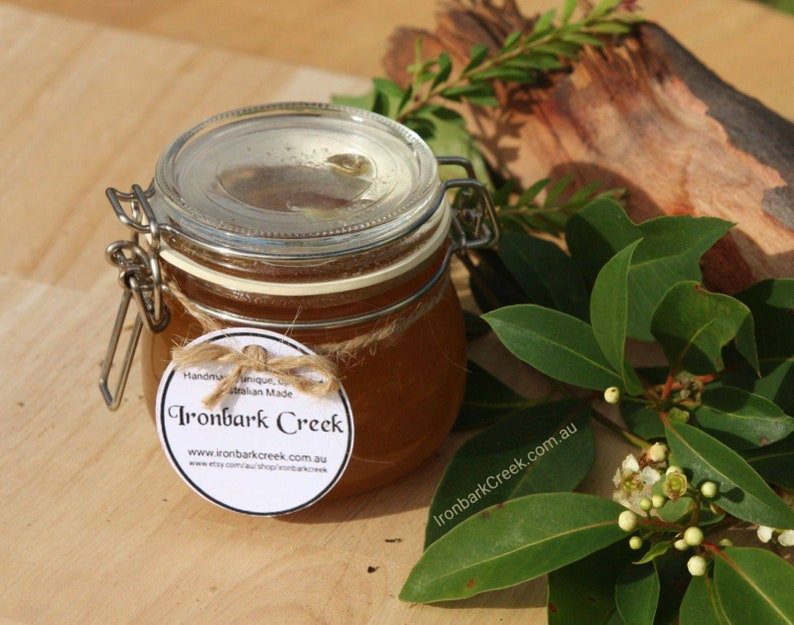 Pure raw honey reusable jar is ideal as a gift thank you image 0