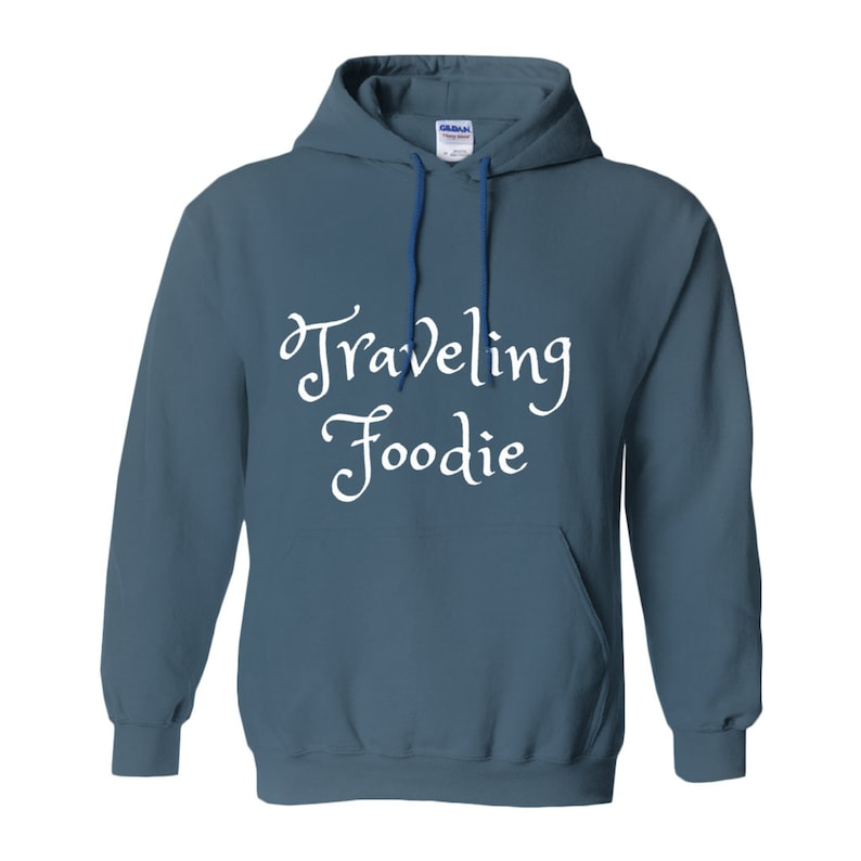The Traveling Foodie Pullover image 0