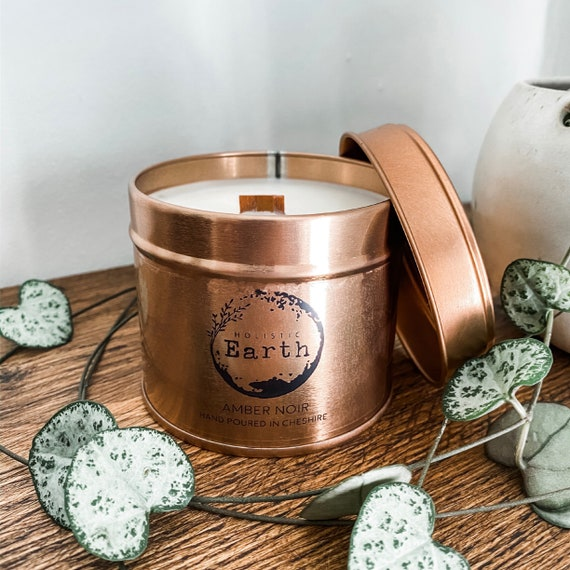 Tin Scented Candle | Holistic Earth | Vegan Gifts | Eco-Friendly Gifts | Valentine Gifts
