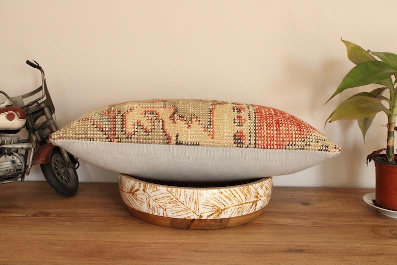 Rug Pillow Cover,Vintage Pillow 12/'/'x 20/'/' Rug Pillow,Wool Pillow,Decorative Pillow 30 x 50cm pillow, Vintage Rug Pillow