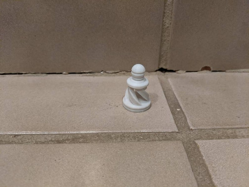 Spiral Chess Pieces
