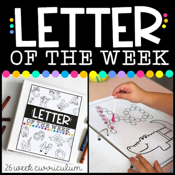 Letter of the Week Workbook