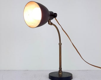 Rare Modernist floor lamp doctor lamp by Christian Dell for