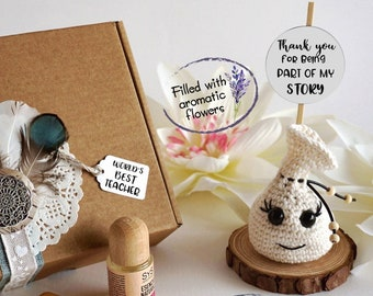 Aromatic gift for best teacher, Best teacher gift card, Thank you being part of my story card, Scented gift new teacher, New teachers gift.