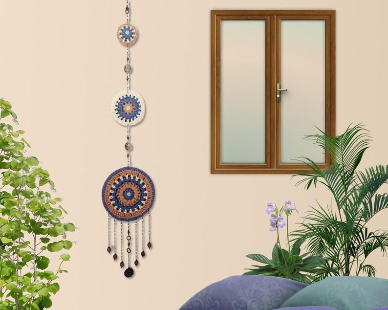 Wall hanging Mandala reversible Yoga room wall relaxing image 0