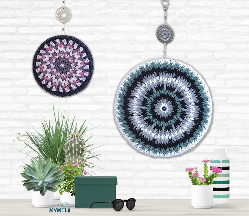 Circular mandalas soft and reversibles gorgeous for Los dos modelos