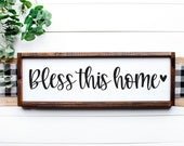 Bless This Home SVG Bless Our Home Svg Home Sweet Home Svg Bless Our House Svg Welcome Svg Home Svg Welcome Doormat Svg