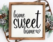 Home Sweet Home SVG Home Svg Home Decor Svg Home Sweet Home Sign Digital Cut File For Cricut Svg For Silhouette