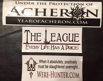 Bumper Sticker Acheron / League® / Were-Hunter