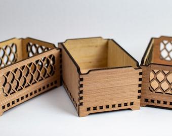 Stackable Storage Bin, Storage Tray, Storage Organizer