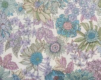 Japanese Fabric - Lecien - Memoire A Paris - floral fabric - cotton lawn fabric - 40738