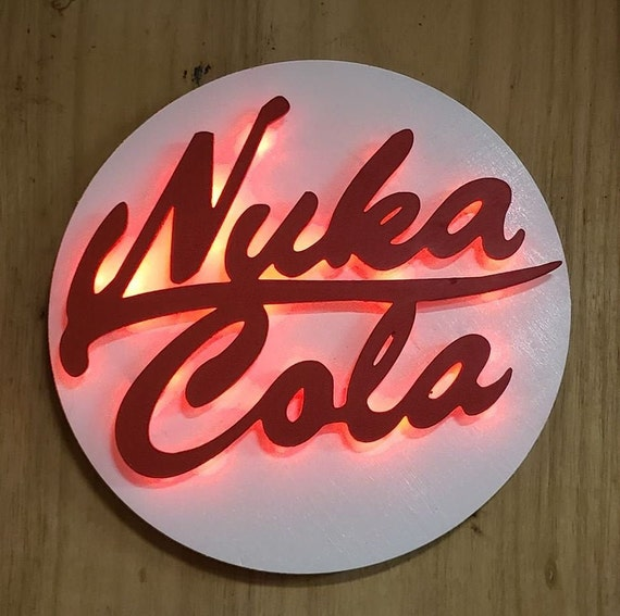 Nuka-Cola Quantum LED drink of the post nuclear world, Nuka Cola sign