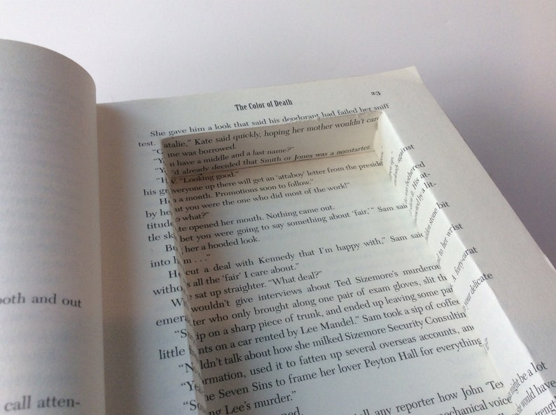 The Color Of Death Hollowed Out Book