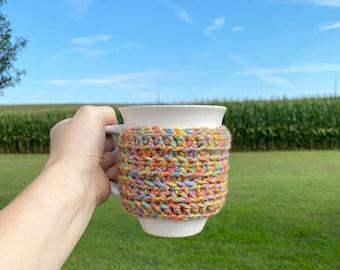 Snuggle Up Cozy | coffee cozy | coffee | crochet | crochet cozy