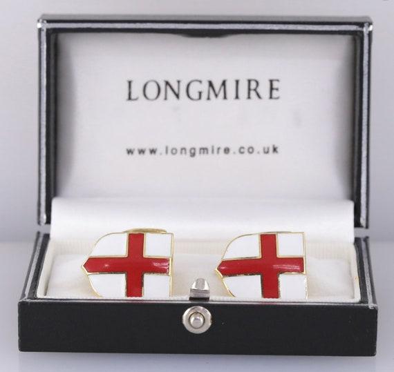 Saint George/'s Cross Flag of England Cufflinks