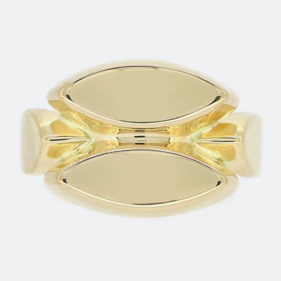 Georg Jensen 18ct Yellow Gold Band Ring