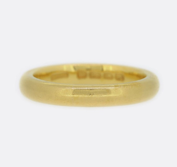 Victorian 22ct Yellow Gold Wedding Band Ring