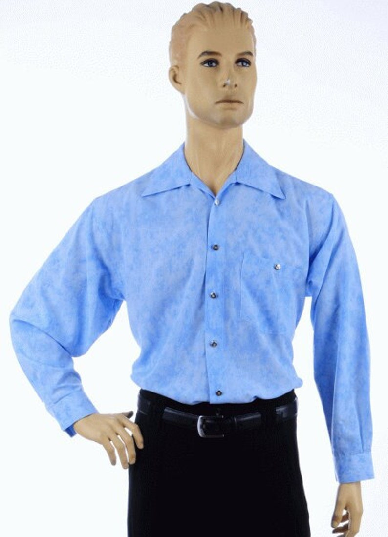 1970s Men's Clothes, Fashion, Outfits Retro-Shirts $94.59 AT vintagedancer.com