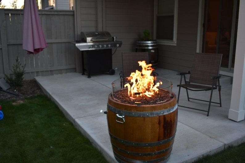34 Barrel Wine Barrel Fire Pit