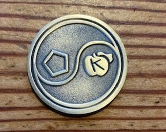 Discordian Prayer coin
