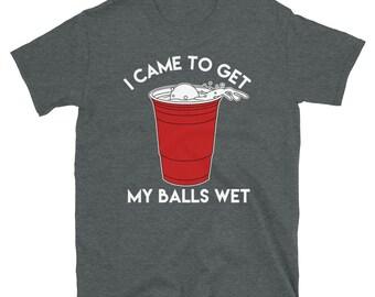 Beer Pong Balls T-shirt - Short-Sleeve Unisex T-Shirt