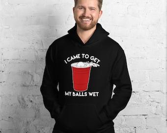 Beer Pong Balls Unisex Hoodie