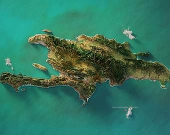 Hispaniola - Satellite