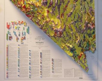 Nevada - Geology