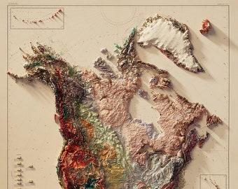 North America - Geological Map - (V1)