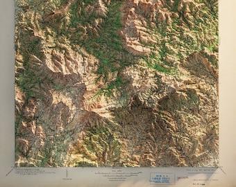 North Carolina - Cranberry Quadrangle - Topography