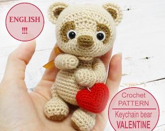 Ravelry: Easy-peasy teddy-bear — crocheted in one piece pattern by ...   270x340