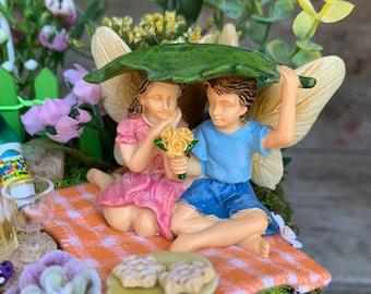 Fairy Garden, Boy and Girl Fairy Garden, Complete Fairy Garden, Fairy Garden Accessory, Fairy Garden Complete Kit, Miniature Fairy Garden