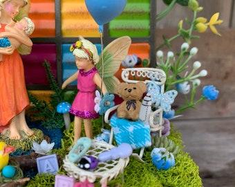 Fairy Garden, Family Fairy Garden, Complete Fairy Garden, Fairy Garden Accessory, Fairy Garden Complete Kit, Fairy Garden Supply