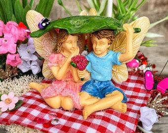 Fairy Garden, Valentine Fairy Garden, Fairy Garden Kit, Fairy Garden Miniature, Fairy Garden Accessory, Complete Fairy Garden Kit, Valentine