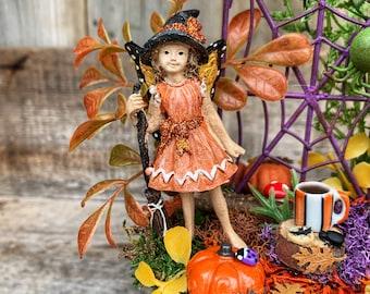 Fairy Garden - Halloween Fairy Garden/Miniature Fairy Garden/Fairy Garden Supplies/Complete Fairy Kit/Halloween Decoration/Halloween Gift