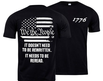 1776 - We The People Flag Shirt