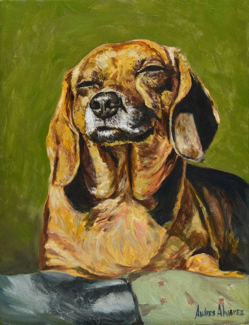 Pet Portraits Pet Portrait Painting from Photo Oil on Canvas Art ...