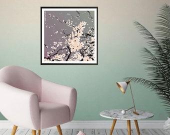 "Poster ""Flowers"" 30x30cm"
