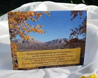 Blank Card, Scripture, A2
