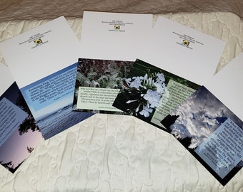 Akathist of Thanksgiving Blank Card Set, Glory to God for All Things, A2