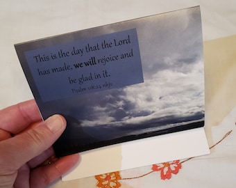 This is the Day Blank Notecards A2, with envelopes, Psalms