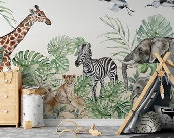 Kids Room Wallpaper Etsy