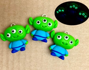 Wuf Love Three Eyed Alien Squeaky Dog Toy