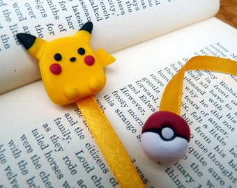 Pikachu key door with a heart for Valentine/'s Day in fimo